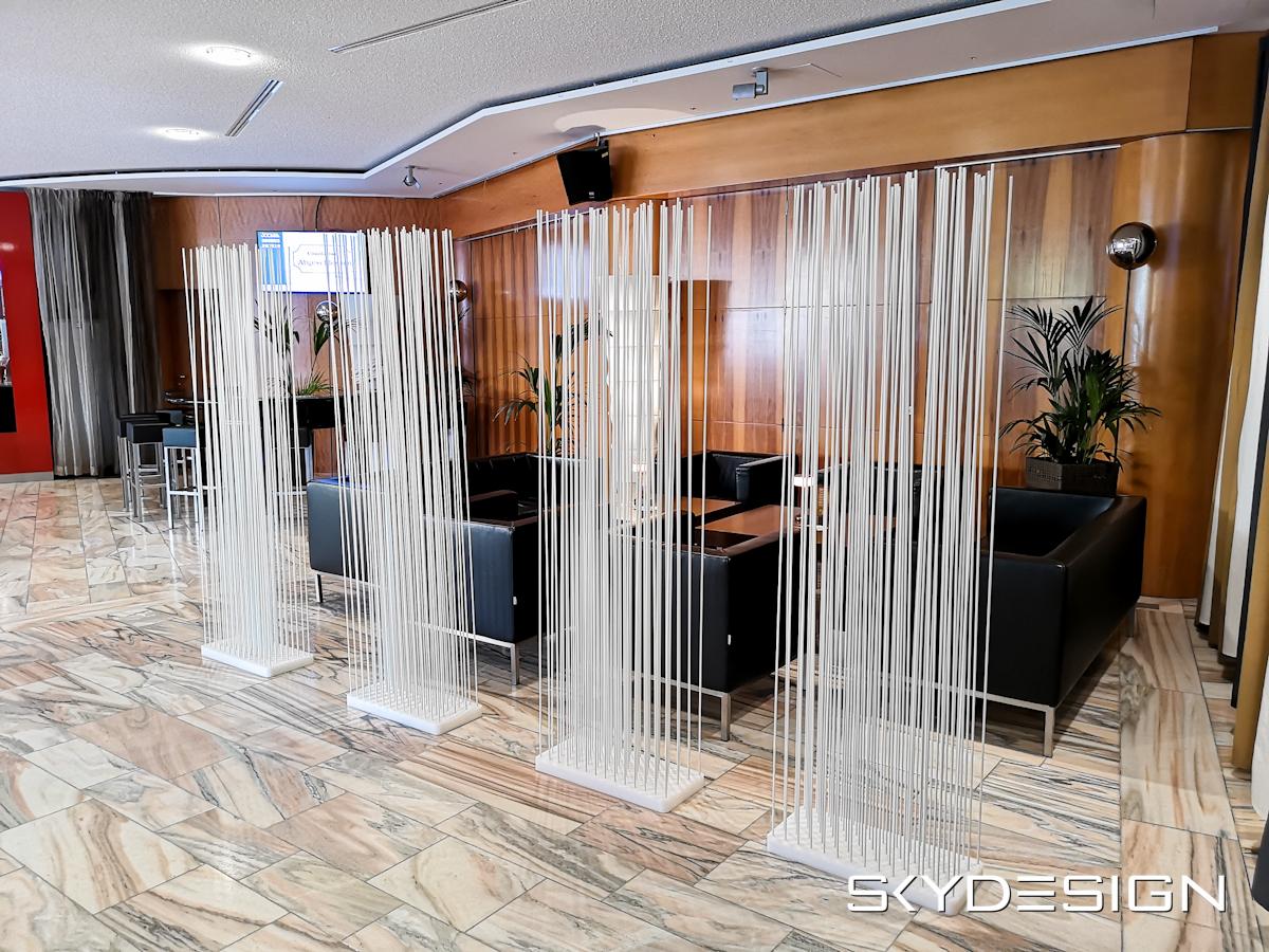 Raumteiler Vermietung Loungemöbel