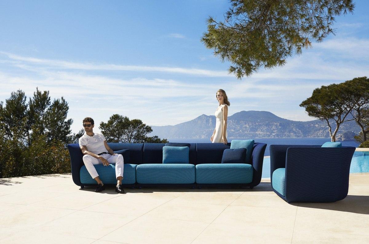 Sofa für den Garten und Terrasse Loungemöbel