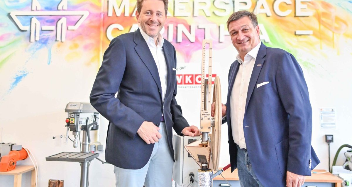 MAKERSPACE: WK eröffnete Innovationswerkstatt im Süden