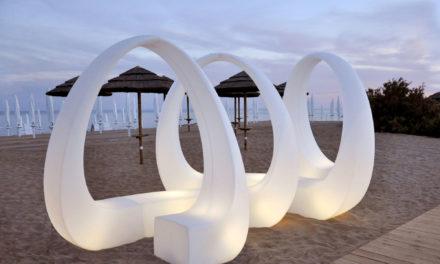 Luxus Loungemöbel für den Strand oder Terrasse