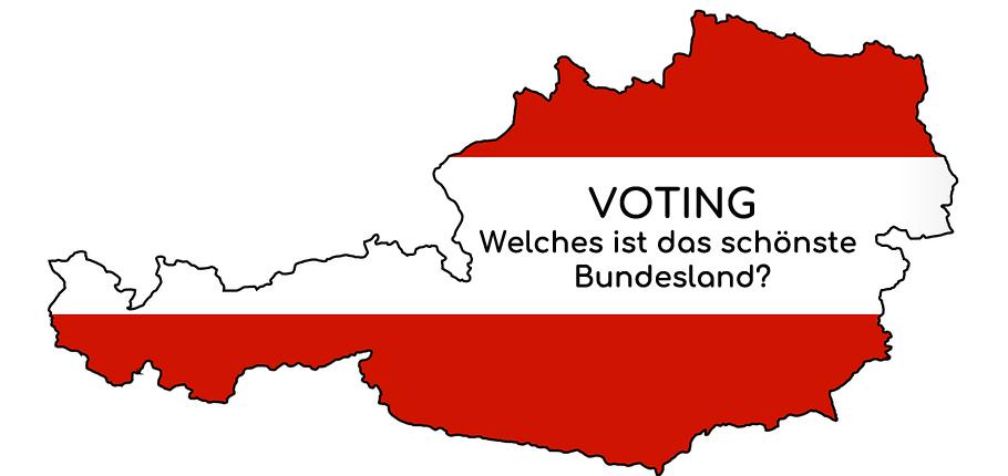 Bundesländer Voting: Welches ist das schönste Bundesland?