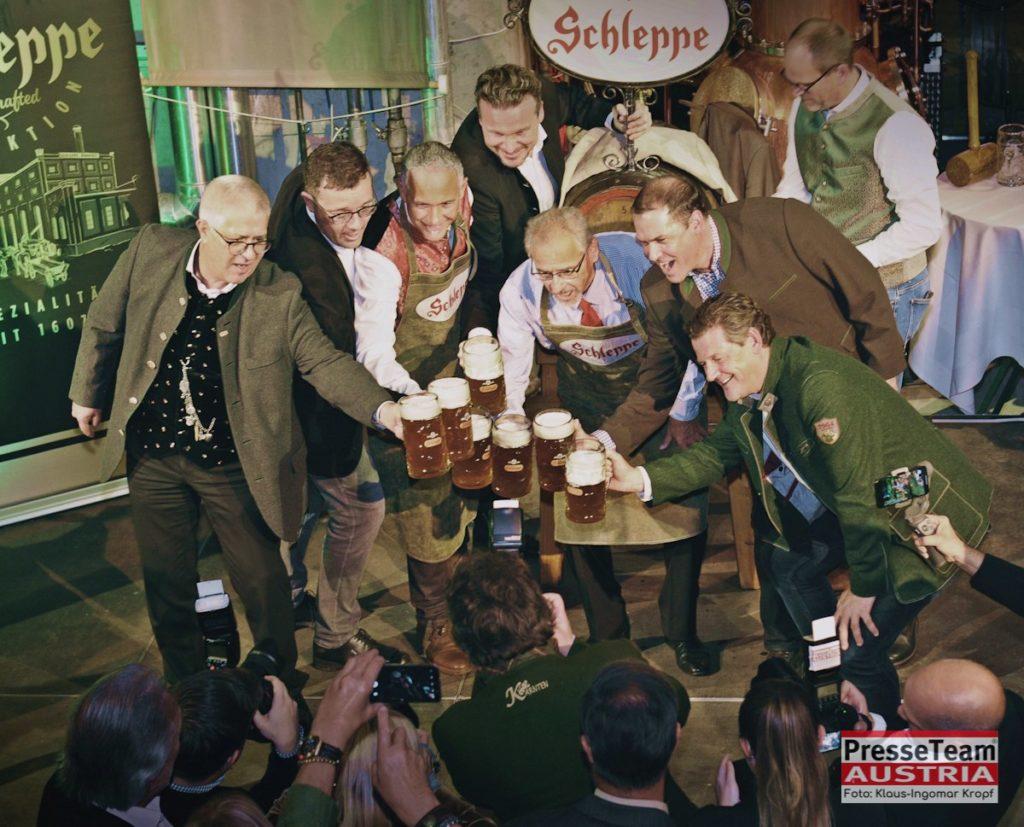 Schleppe Bockbieranstich 2019 in Klagenfurt. Klaus-Ingomar Kropf Bilder vom Bockbieranstich Schleppe Brauerei Klagenfurt Bockbieranstich Schleppe.