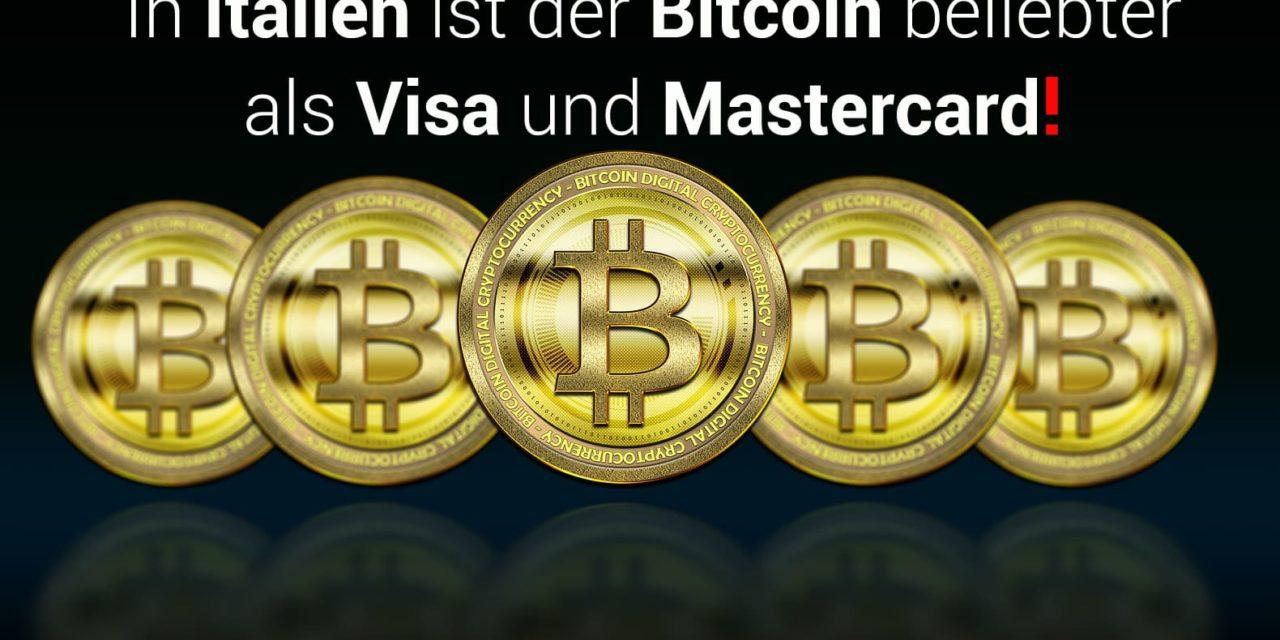 """Darum nennt man Italien seit Kurzem den """"Bitcoin (BTC)-Staat""""!"""