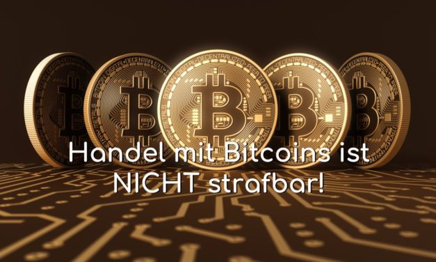 Handel mit Bitcoins ist nicht strafbar