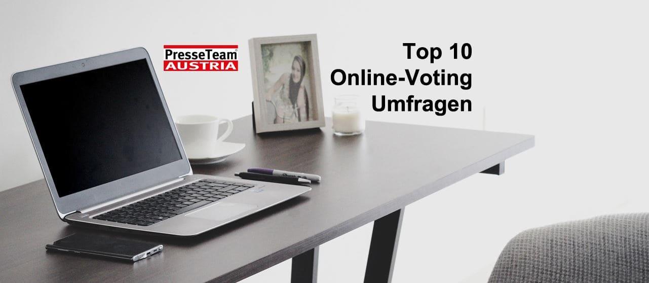 UMFRAGEN: Presseteam Austria macht Meinungen wichtig.