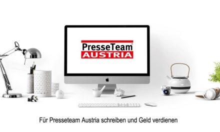 Für Presseteam Austria schreiben und Geld verdienen