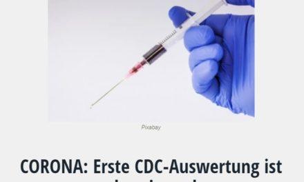 CORONA: Erste CDC-Auswertung ist alarmierend