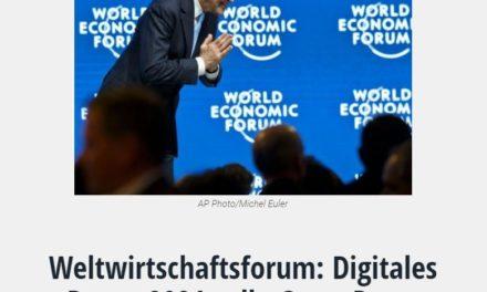 """Weltwirtschaftsforum: Digitales Davos 2021 soll """"Great Reset Initiative"""" enthüllen"""