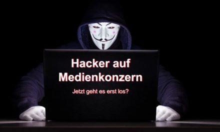 Hacker greifen Medienkonzerne an