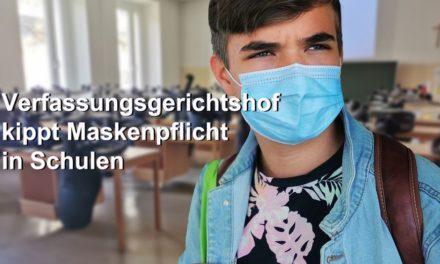 Verfassungsgerichtshof kippt endlich Maskenpflicht in Schulen