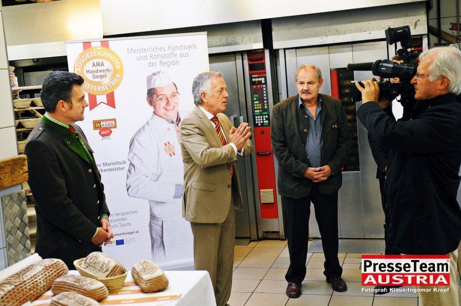 Kauf Regional. Herbert Gaggl Bürgermeister Moosburg