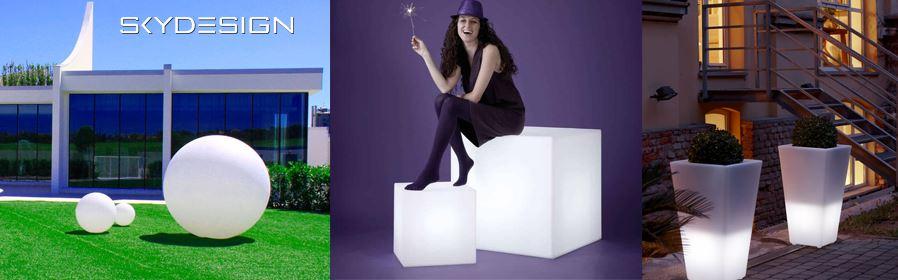 leuchtkugeln und Wuerfel Garten - Bonaldo Möbel | Kollektion Bonaldo 2020