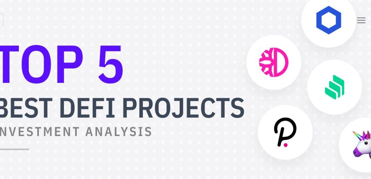 Die Top 5 besten DeFi-Projekte, in die man investieren könnte