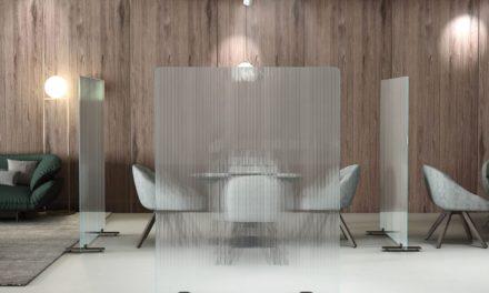 Raumteiler aus Glas | Glas Raumteiler Sichtschutz Trennwand