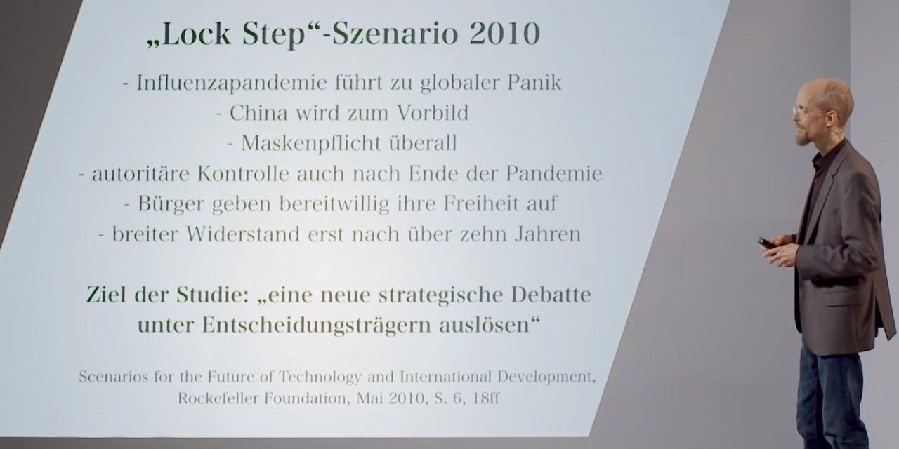 Pandemie-Planspiele – Vorbereitung einer neuen Ära? Mehr als 2 Millionen Aufrufe