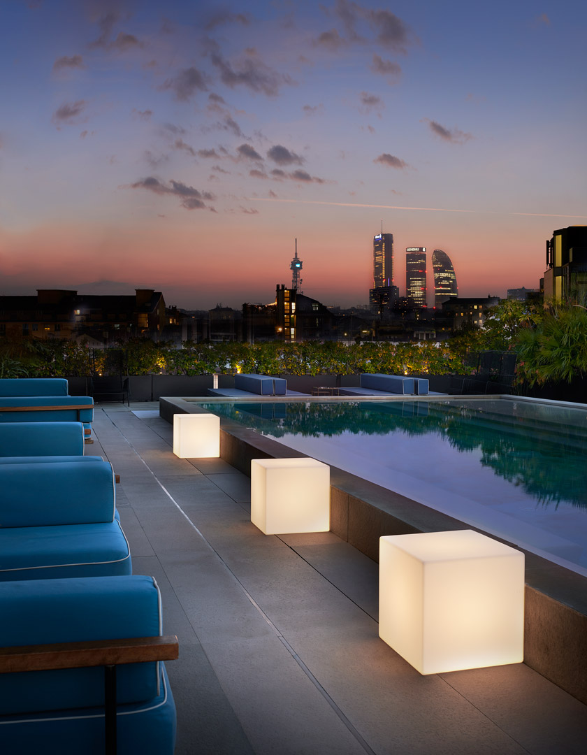 CUBO Leuchtwürfel | Sitzwürfel beleuchtet - Wohnideen