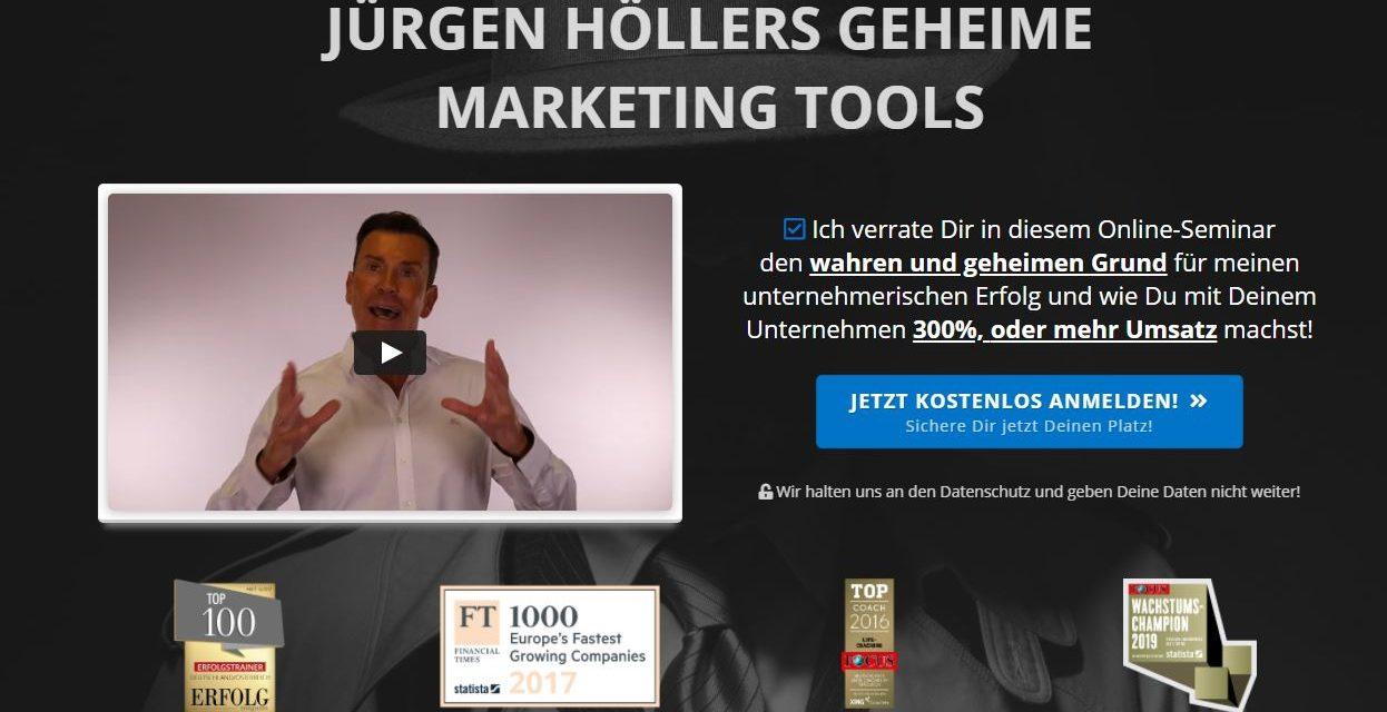 Jürgen Höller Seminare Angebote