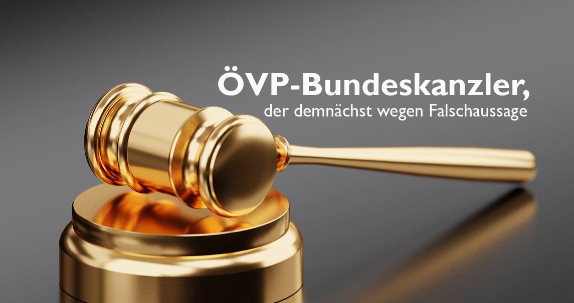 ÖVP-Bundeskanzler Sebastian Kurz Verurteilung?