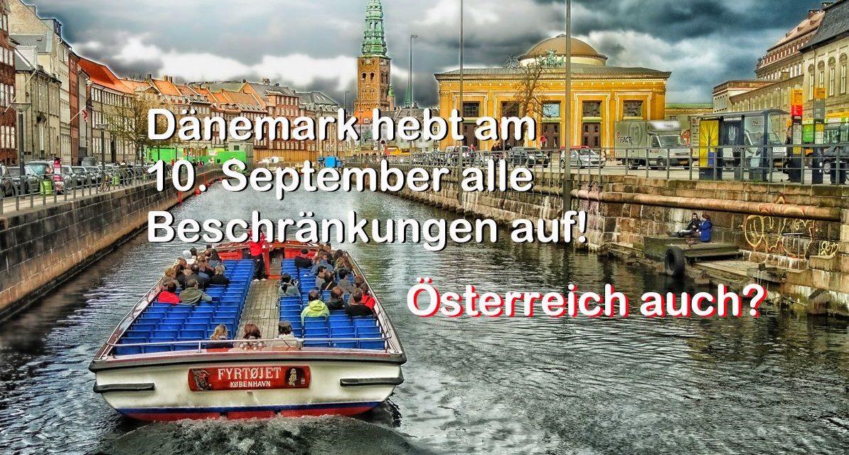 """Schluss mit """"Pandemie"""": Dänemark hebt am 10. September alle Beschränkungen auf"""