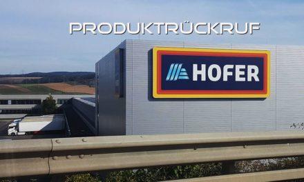 Produktrückruf bei Hofer: Wo bleibt die Qualitätskontrolle