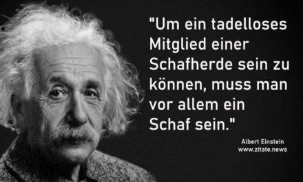 Zitate: Wenn's Albert Einstein sagt, muss es stimmen. Oder?
