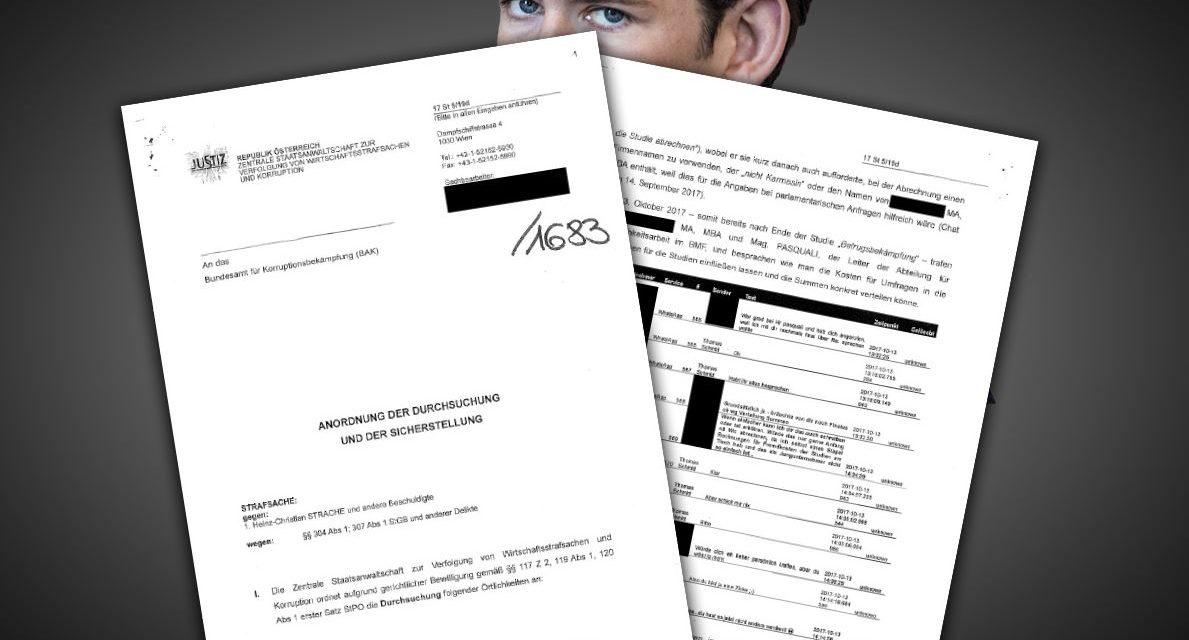 Details über Kanzler-Razzia – hat ÖVP Fake News mit Steuergeld bezahlt?